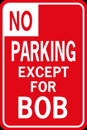 no parking bob