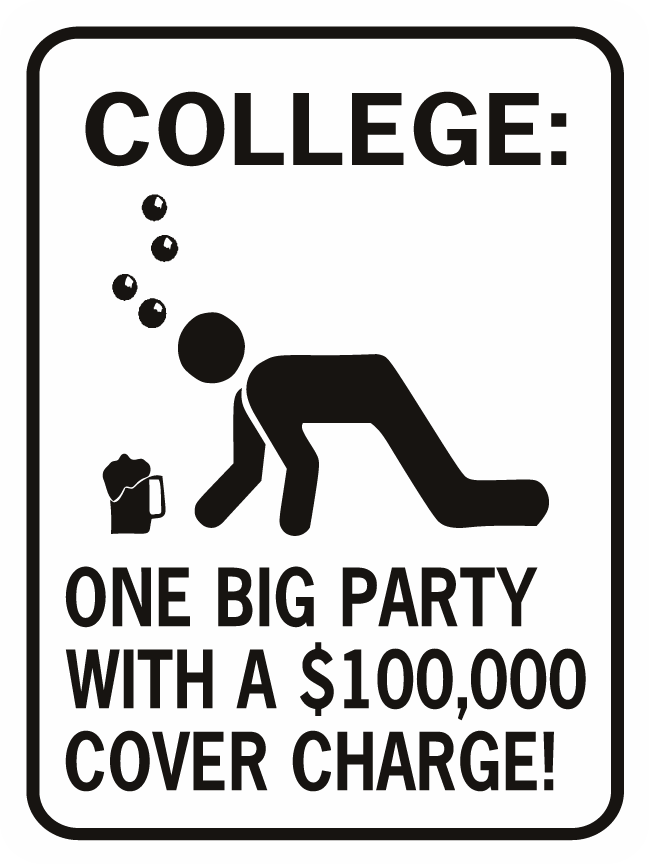 College One Big Party $100,000 Cover Charge