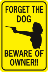 Forget The Dog Beware Of Owner Woman
