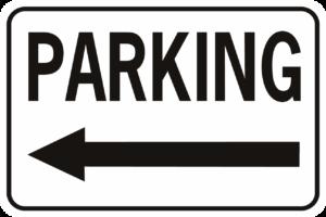 Parking Arrow Left Horizontal