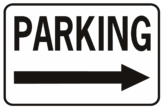 Parking Arrow Right Horizontal