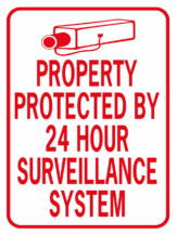 Property Protected By 24 Hour Surveillance System Image