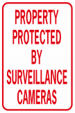 Property Protected By Surveillance Cameras No Image