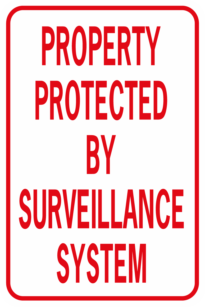 Property Protected By Surveillance System No Image