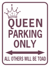 Queen Parking Toad