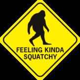 Sasquatch Feeling Kinda Squatchy Diamond