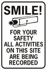 Smile For Your Safety All Activities On This Site Are Being Recorded