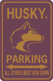 Uw Husky Parking Face