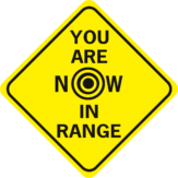 You Are Now In Range Diamond