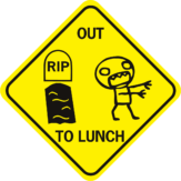 Zombie Out To Lunch