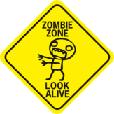Zombie Zone Look Alive Diamond