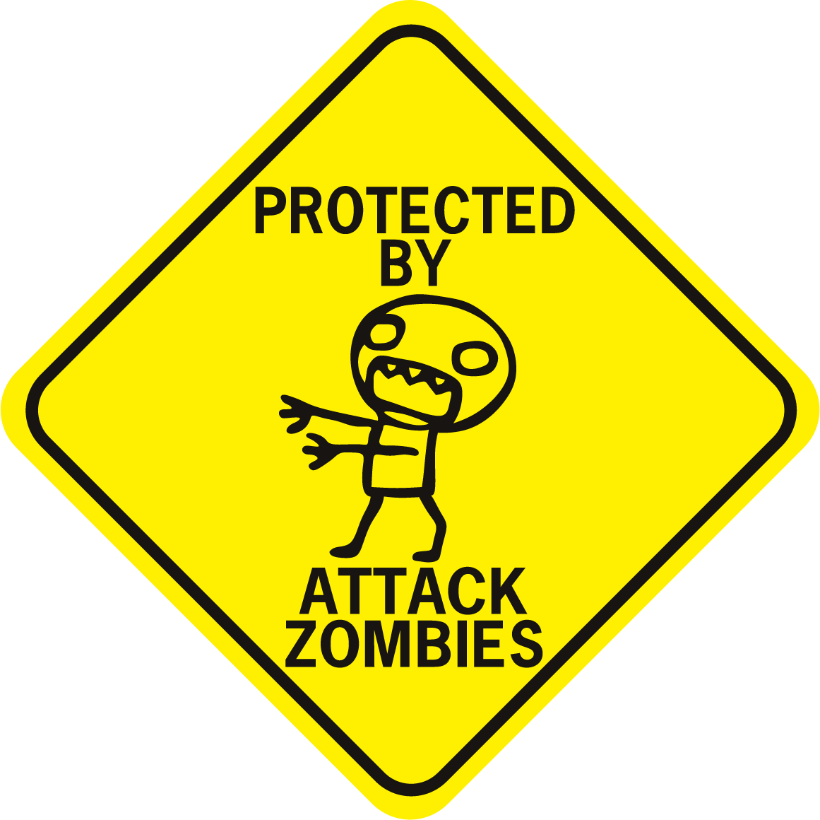 Zombies Protected By Attack Zombies
