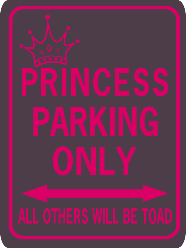 Princess Parking Toad