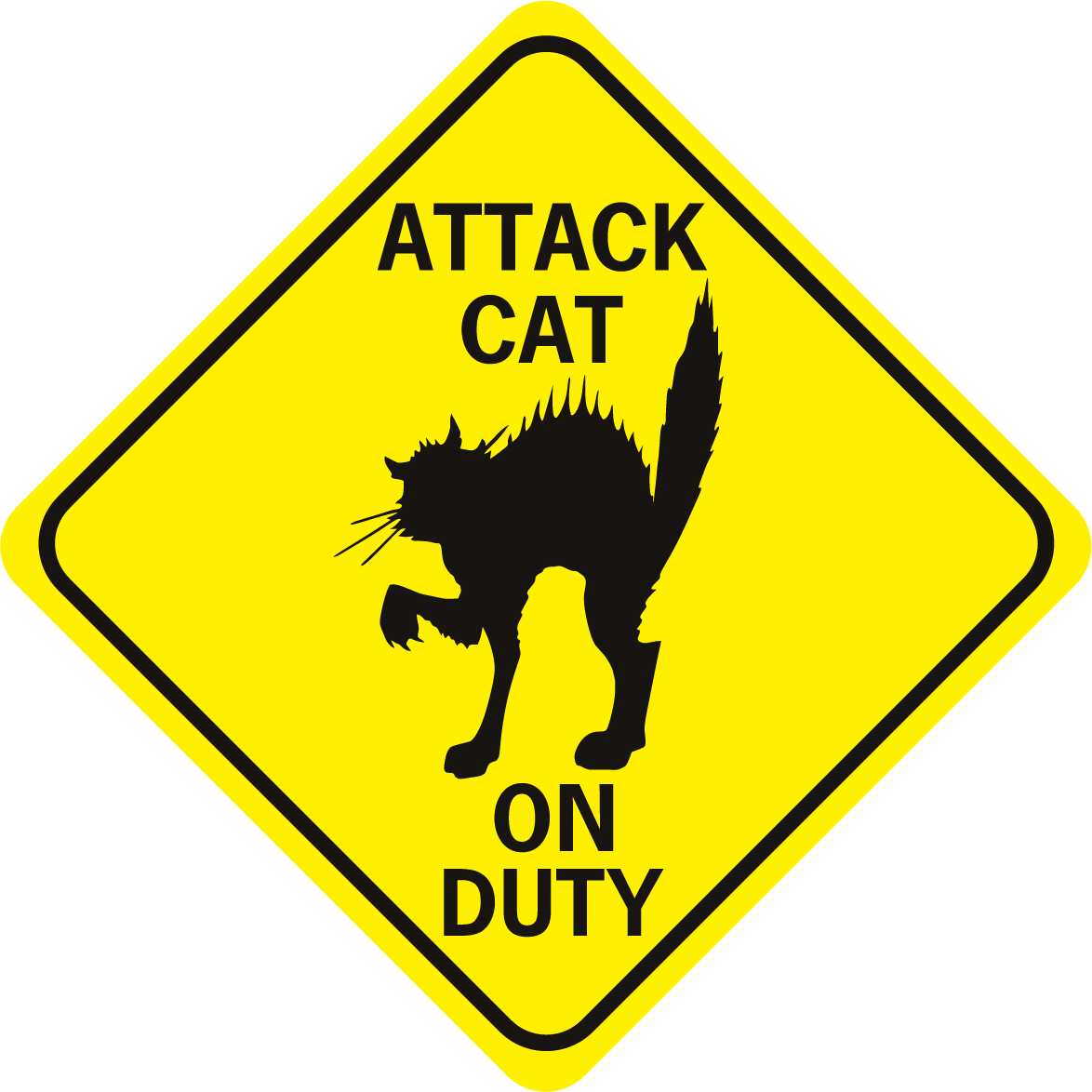 Attack Cat on Duty