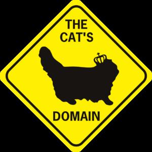 the cat's domain long hair diamond