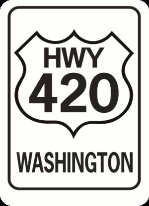 Highway 420 Washington Rectangle