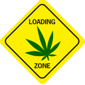 Loading Zone Pot Leaf Diamond
