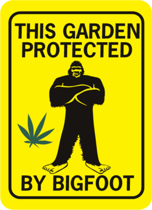 This garden protected by bigfoot rectangle