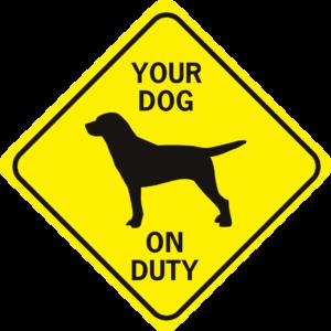 DOG BREED ON DUTY