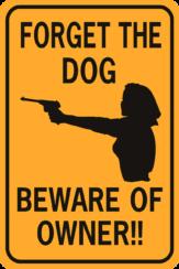 Gun Signs
