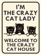 cat i'm the crazy cat lady