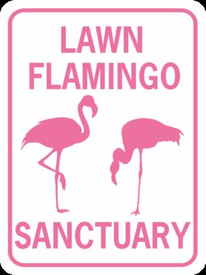 FLAGMINGO LAWN FLAMINGO SANCTUARY