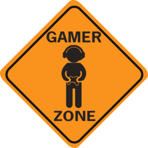 GAMER ZONE WITH IMAGE