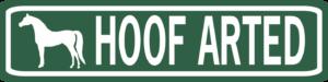 Hoof Arted Street Sign