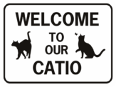 Welcome to our Catio rectangle