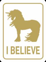 unicorn I Believe! gold wt