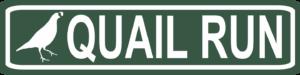 Quail Run Street Sign