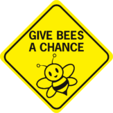 Bee Give Bees A Chance diamond